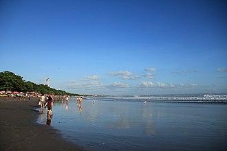 Kuta - Kuta Beach viewed from Seminyak.