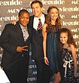 Kyle Massey, John, Maiara Walsh and Madison Pettis.jpg