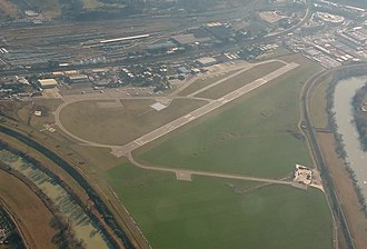 Rome Urbe Airport - Image: LIRU From the Air