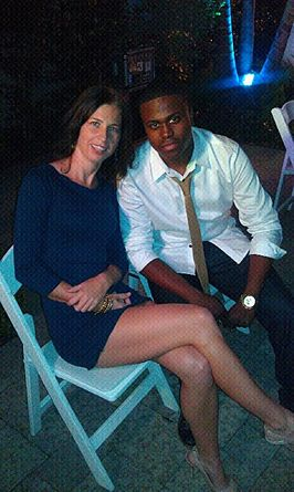 LME President Andi Rouse attends LA Fashion Week with Client & 90's star Ross Bagley.jpg