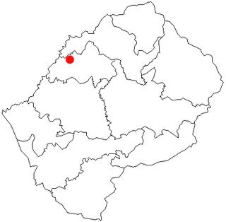 Teyateyaneng City in Lesotho