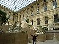 La Cour Marly, Museo del Louvre, prospettiva.JPG