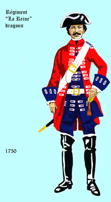 L'uniforme de la reine