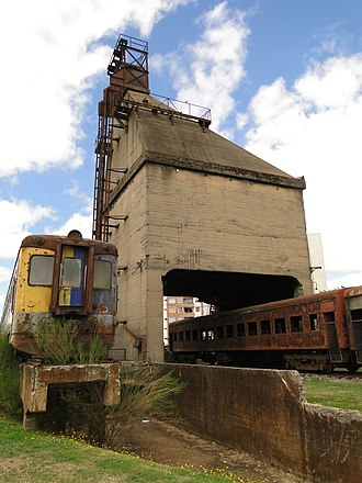Coaling tower - Image: La carbonera