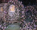 La roseraie au crepuscule by Henri Eugene Le Sidaner.jpg