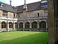 Lacock Abbey Inner Square - geograph.org.uk - 562680.jpg