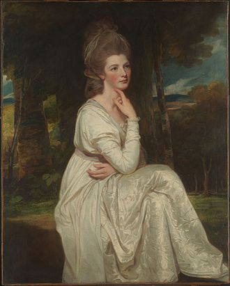 Edward Smith-Stanley, 12th Earl of Derby - Image: Lady Elizabeth Hamilton (1753–1797), Countess of Derby