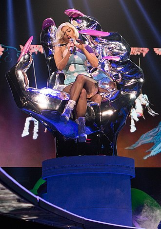 "Do What U Want - Gaga performing ""Do What U Want"" on ArtRave: The Artpop Ball tour"