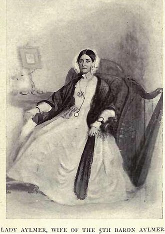 Matthew Whitworth-Aylmer, 5th Baron Aylmer - Lady Louisa Anne Aylmer