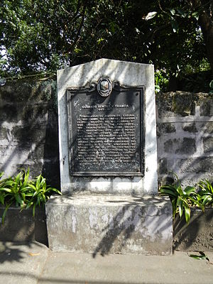 Francisca Tirona - Conrado Benitez house and lot with NHI Marker.