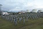 Lajes Airmen honor 9-11 victims (9803360594).jpg
