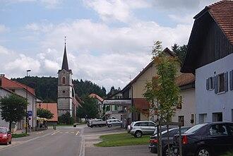 Lajoux (Switzerland) - Village church of Lajoux