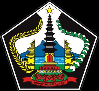 Bangli Regency - Image: Lambang Kab Bangli