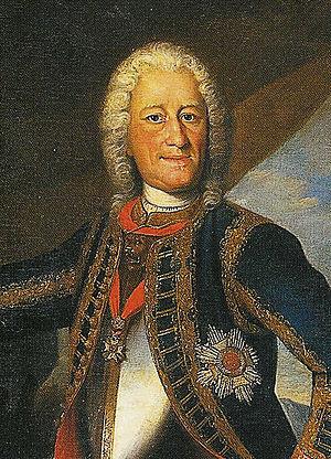 Christoph Graupner - Christoph Graupner's patron: Landgraf Ernst Ludwig von Hessen-Darmstadt.