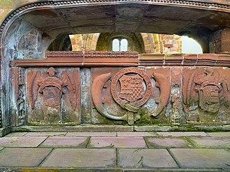 Thomas Dacre, 2nd Baron Dacre - Tomb of Sir Thomas Dacre, Lanercost Priory