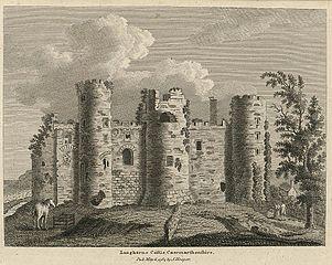 Langharne Castle, Caermarthenshire