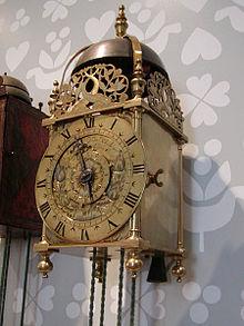 Lantern clock 1