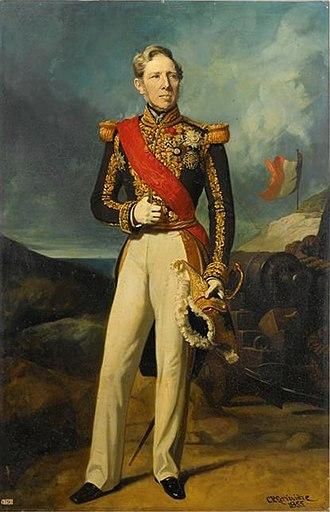 Alexandre Ferdinand Parseval-Deschenes - Alexandre Ferdinand Parseval-Deschenes by Charles-Philippe Larivière, 1855 (musée du Château de Versailles)