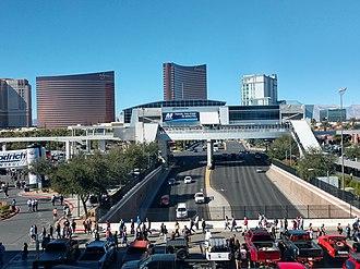 Las Vegas Monorail - Image: Las Vegas Monorail Las Vegas Convention Center Station