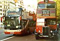 Last day of Routemaster operation, Piccadilly, 38 Service. (without Routemaster) 28 Oct 2005 - Flickr - sludgegulper.jpg