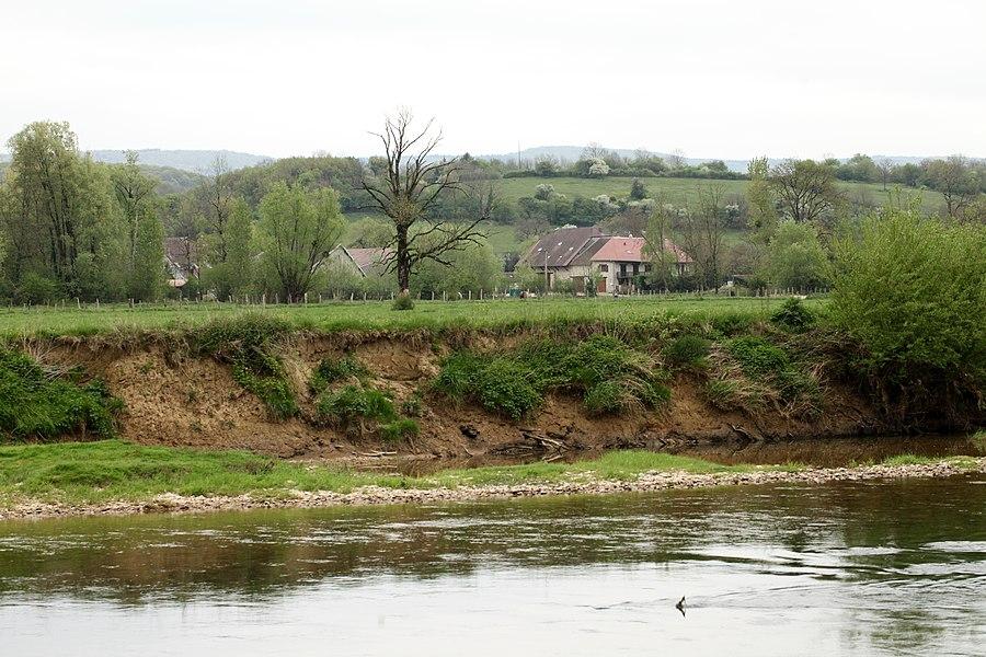 Vue de Lavans-Quingey (Doubs).