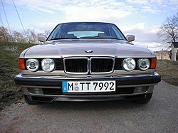 Bmw 7 Series E32 Wikivisually