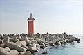 Le phare de San Nicolo à lentrée de la passe du Lido (lagune de Venise) (8108819388).jpg