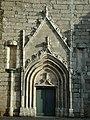 Le portail ouest de l'église de Montournais..JPG