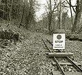 Lea Bailey Light Railway - stop here (geograph 4577384).jpg