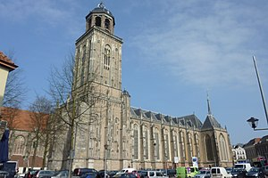 Roman Catholic Diocese of Deventer - Saint Lebuinus Church, the cathedral of the Diocese of Deventer, later taken by the Calvinists and now a Protestant Church named the Great Church