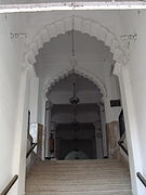 Left Entrance of the Chawkbazar Shahi mosque(inside view).jpg