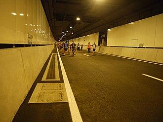 Legacy Way - Low point sump, about 40 metres underneath Elizabeth Street, Paddington
