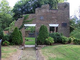 Lenoir Cotton Mill - The ruins of the Lenoir Cotton Mill, now part of a city park