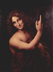 Some have seen a facial similarity between the Mona Lisa and other paintings, such as St. John the Baptist.