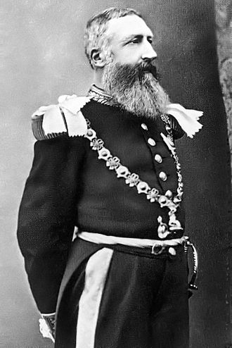 Congo Free State - Leopold II, King of the Belgians and de facto owner of the Congo Free State from 1885 to 1908