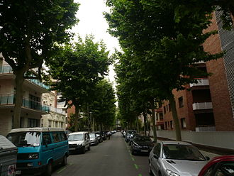 Les Tres Torres - A residential street in Les Tres Torres