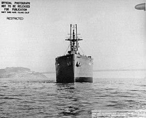 USS Lesuth (AK-125) - Image: Lesuth (AK 125)