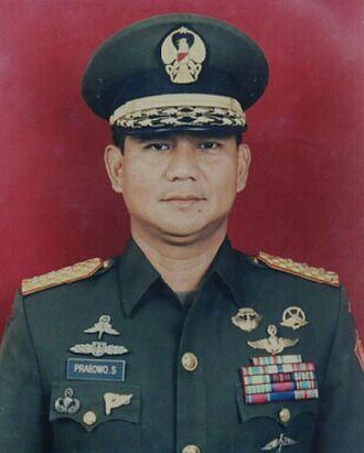 2014 Indonesian presidential election - Prabowo Subianto