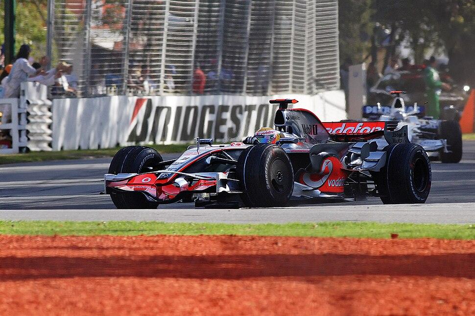 Lewis hamilton - 2008 Melb GP