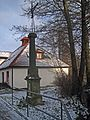 Liberec-Janův Důl - kříž v Kubelíkově ulici (1).JPG