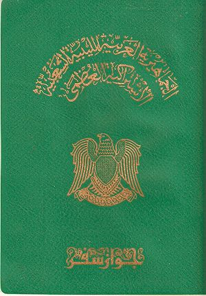 Libyan passport