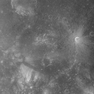 Lick (crater) - Image: Lick crater AS15 M 0954