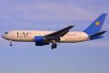 Lignes Aériennes Congolaises Boeing 767-200ER TF-ATO BRU 2002-3-2.png