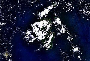 Lihir Group - Lihir Group seen from space (Mahur Island not visible)