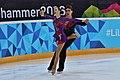Lillehammer 2016 - Figure Skating Pairs Short Program - Anna Duskova and Martin Bidar 2.jpg
