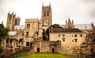 Lincoln Medieval Bishop's Palace - Image: Lincoln Medieval Bishop's Palace (2014)
