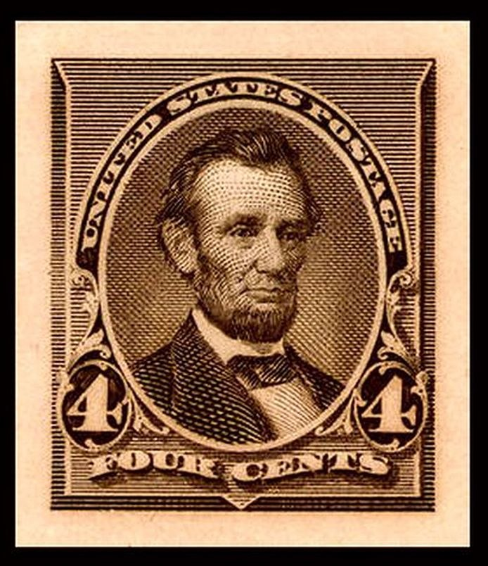 Lincoln Plate proof 1890-4c
