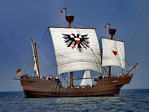 Anglo-Hanseatic War - Lisa von Lübeck, reconstruction of a 15th-century Hansa caravel