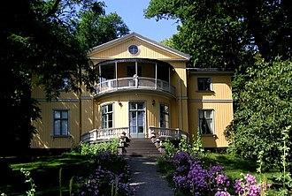 Robert Liston (diplomat) - Listonhill, Robert Liston's residence in Stockholm.
