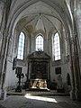 Lizines (77) Église Saint-Georges Choeur.jpg